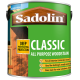 2.5L Sadolin Classic Woodstain (Tinted Colours)
