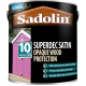 5L Sadolin 10 Year Superdec Satin (Black)