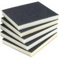 Double Sided Sponge Sanding Pad - 100G (5 Pack)