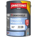 5L Johnstone's Stormshield Smooth Masonry (Brilliant White)