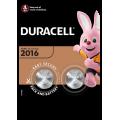 2pk Duracell Batteries - 2016