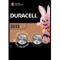 2pk Duracell Batteries - 2032