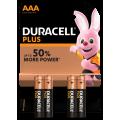 4pk Duracell Batteries - AAA