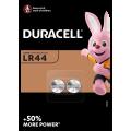 2pk Duracell Batteries - LR44