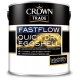 Crown Trade Fastflow Quick Dry Eggshell - White (1L)