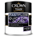 Crown Trade Fastflow Quick Dry Gloss - White (2.5L)