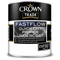 Crown Trade Fastflow Quick Dry Primer Undercoat - White (1L)