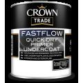 Crown Trade Fastflow Quick Dry Primer Undercoat - White (1L)