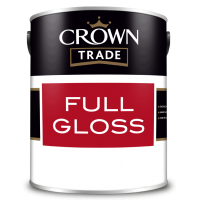 5L Crown Trade Full Gloss (All Colours)