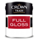 2.5L Crown Trade Full Gloss (All Colours)