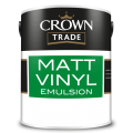 2.5L Crown Trade Matt Emulsion (All Colours)