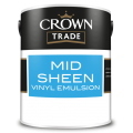 2.5L Crown Trade Midsheen Emulsion (All Colours)