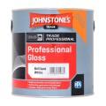 2.5L Johnstone's Professional Gloss - White