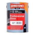5L Johnstone's Professional Gloss - White