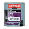 1L Johnstone's Professional Satin Finish - White