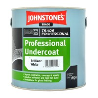 2.5L Johnstone's Professional Undercoat - White
