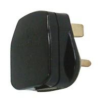 Fused Plug Top, Black
