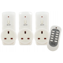 Remote Control Sockets (3 Pack)