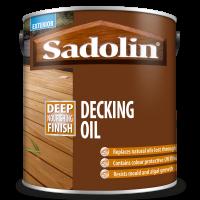 2.5L Sadolin Decking Oil UV+ (Clear)