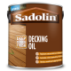 2.5L Sadolin Decking Oil UV+ (Clear)