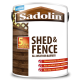 5L Sadolin All Weather Shed & Fence (Cedar Red)
