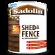 5L Sadolin All Weather Shed & Fence (Cedar Red)