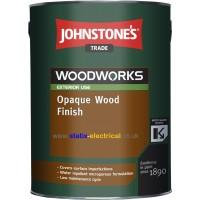 5L Johnstone's Opaque Wood Finish (Ebony)