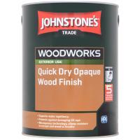 5L Johnstone's Quick Dry Opaque Wood Finish (Ebony)